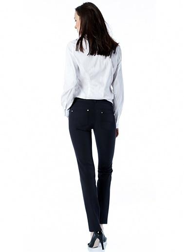 Ekol Ekol 3565282 Düşük Bel Dar Kesim Dar Paça Kadın Pantolon Lacivert